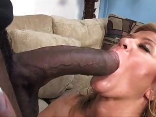 Mature sucking big black cocks