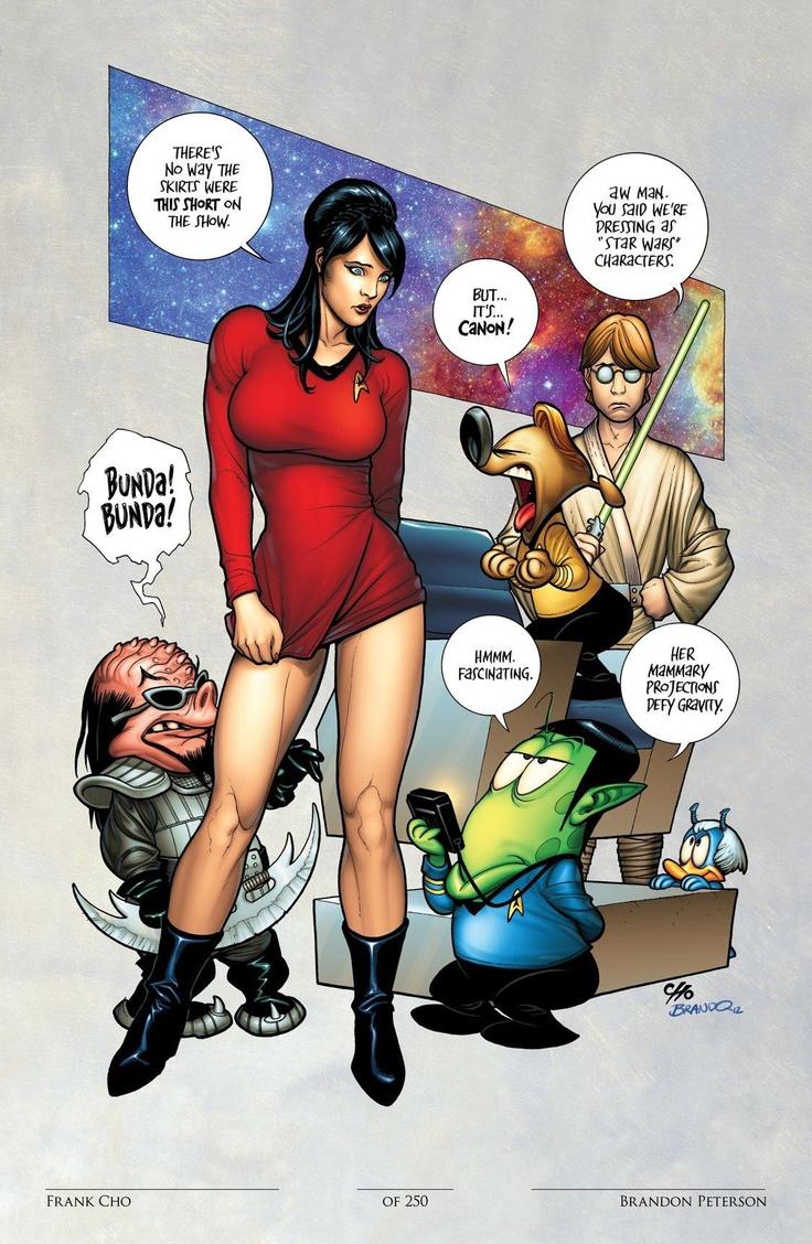 Star trek cartoon porn