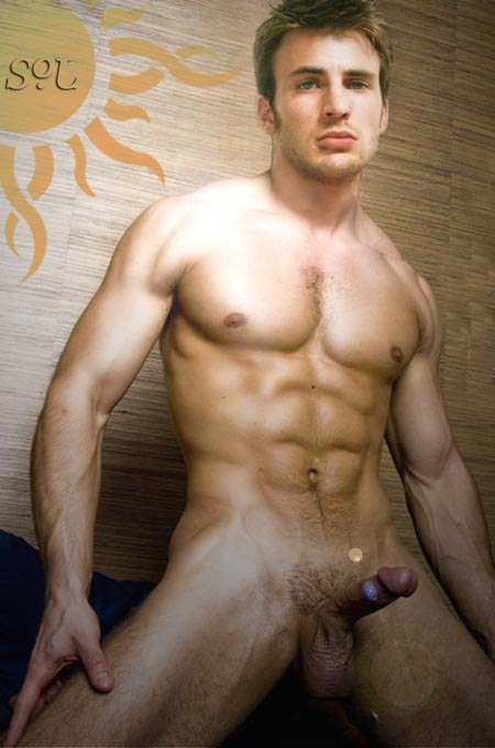 Naked chris evans nude