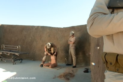 Anal sex and submission operation desert