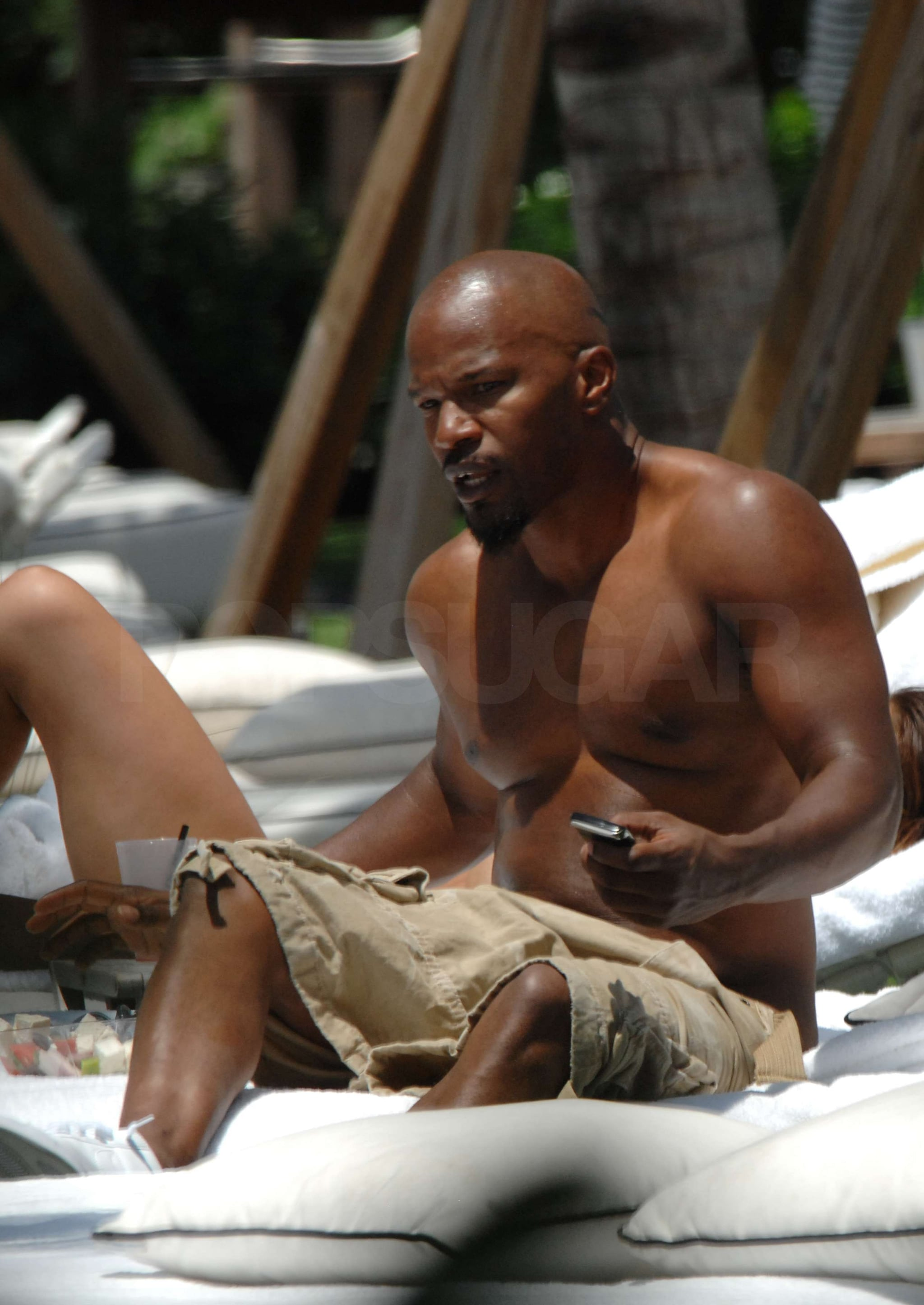 Jamie foxx shirtless