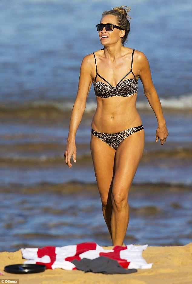 Erika micro bikini girl