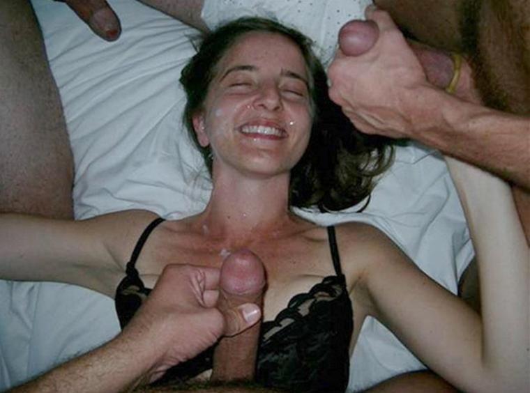 Cum covered wife
