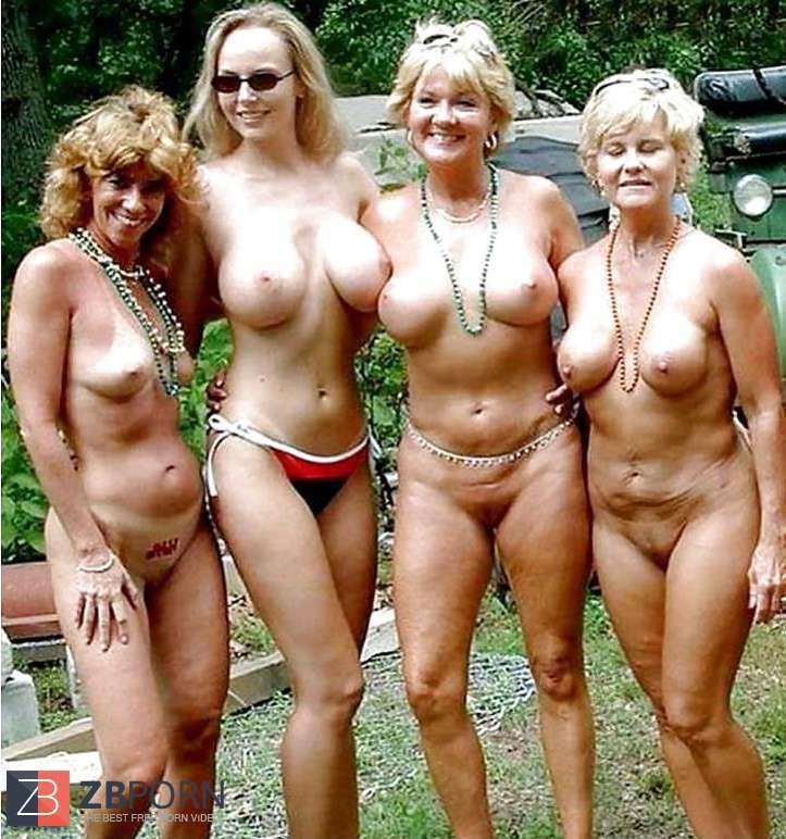 Nude granny beach porn
