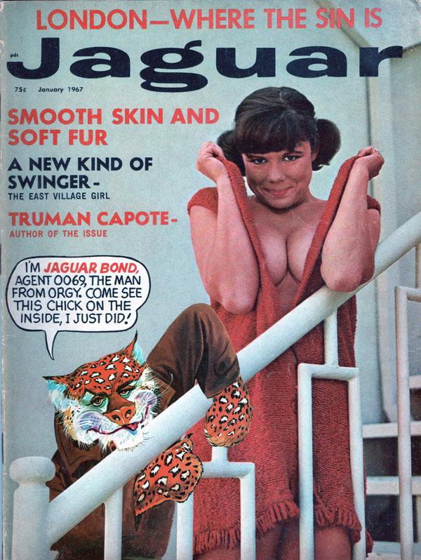 Vintage porn magazine scans