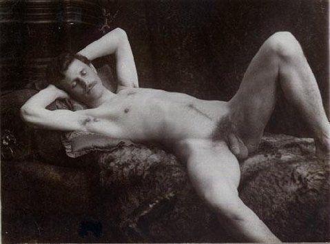 Vintage victorian male nudes