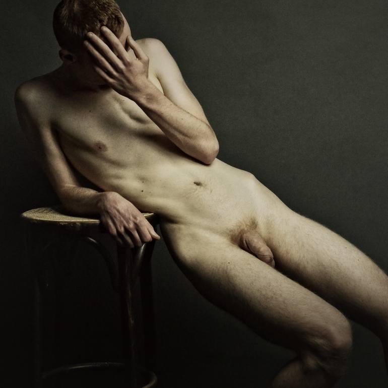 Nude boy art photography