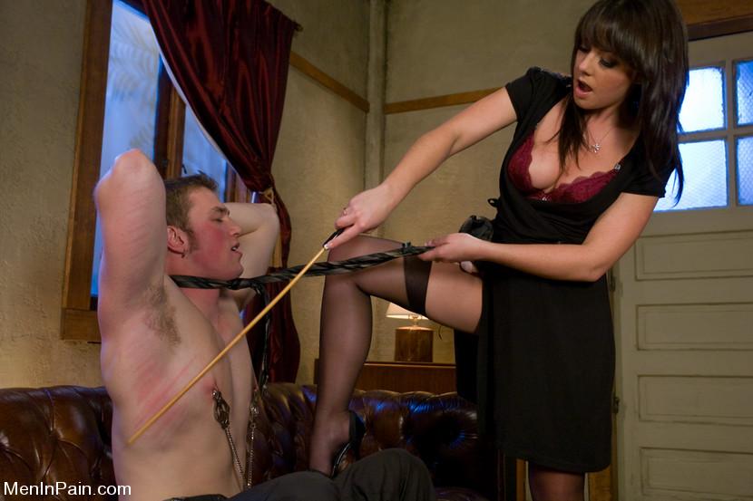 Penny flame femdom spanking