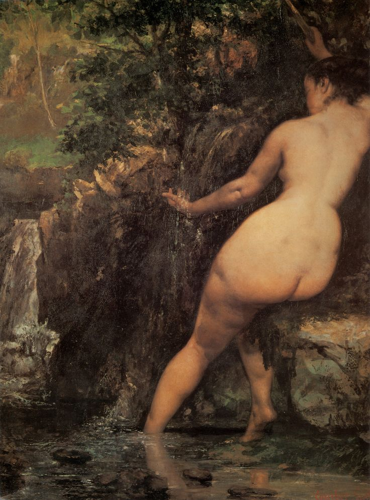 paintings nude Gustave courbet