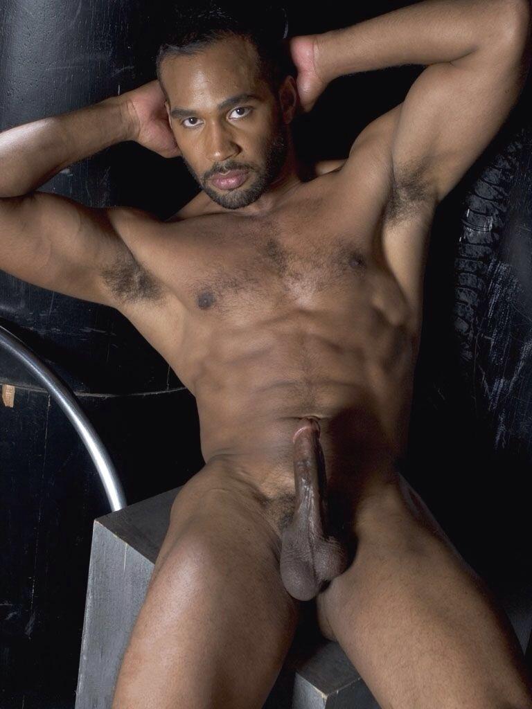 Black man gay porn