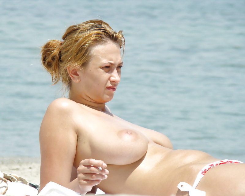 German women nude on beach