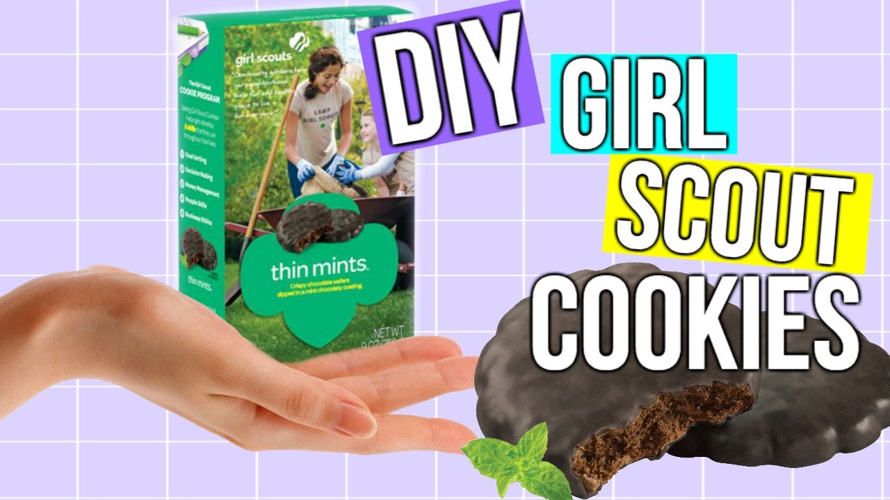 Diy girl scout cookies