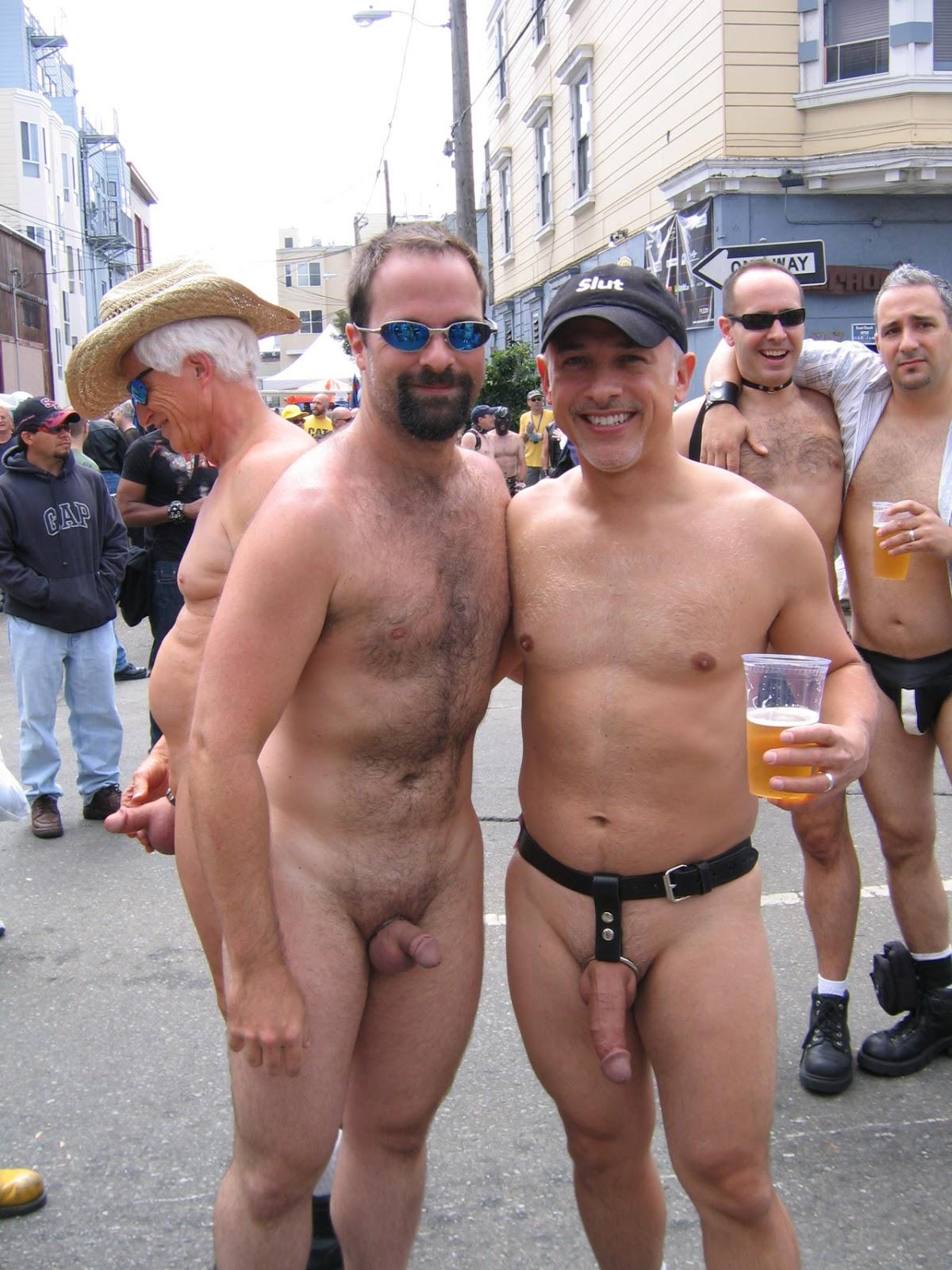 Naked man public nude