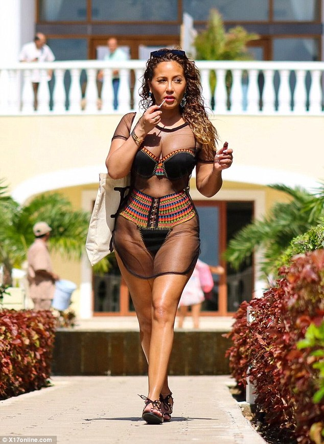 Adrienne bailon nude cheetah girls