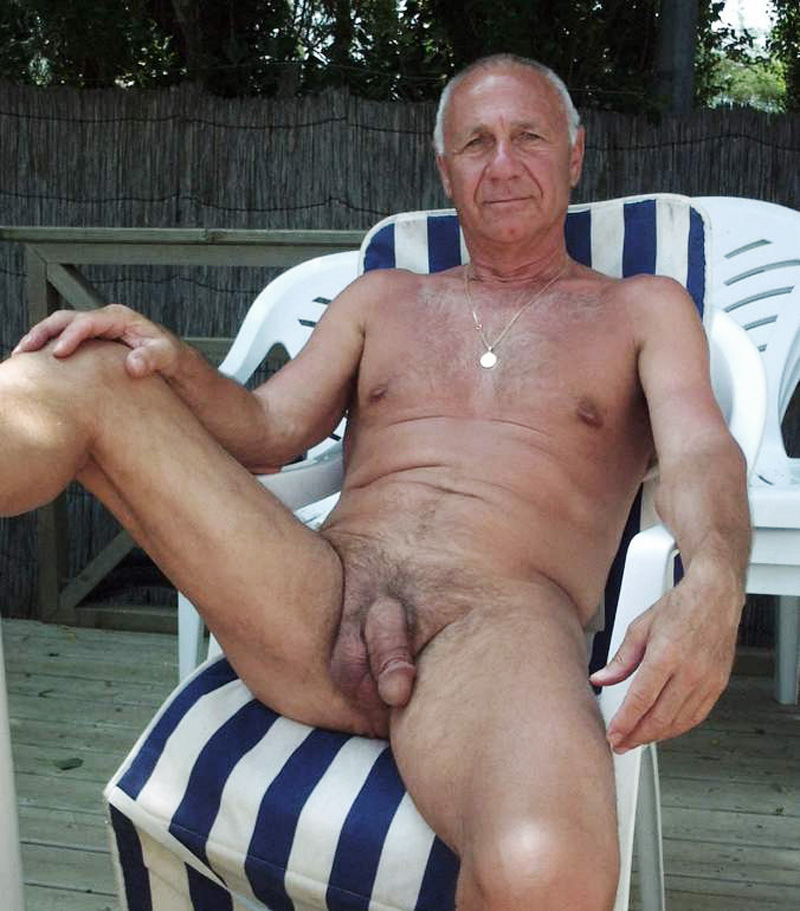 Naked gay old men nude