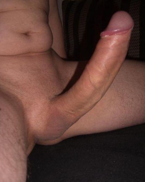 My big fat white cock