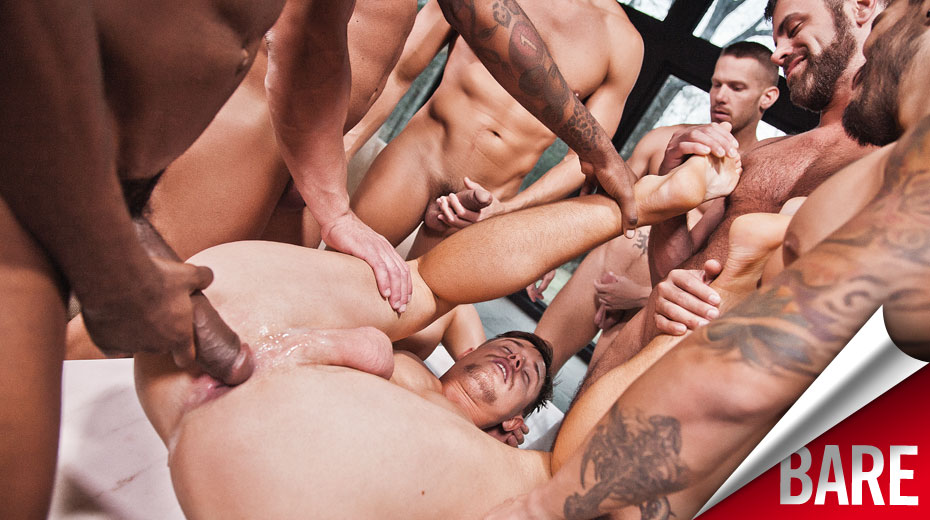 Gay bareback double penetration