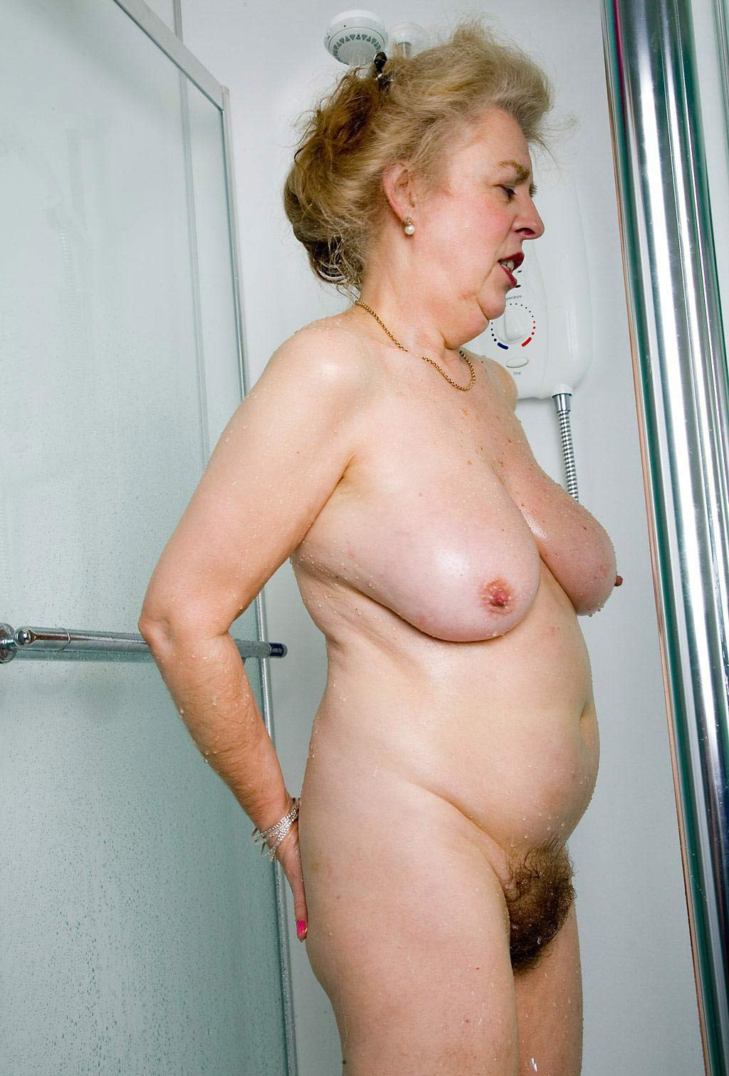 Naked mature granny