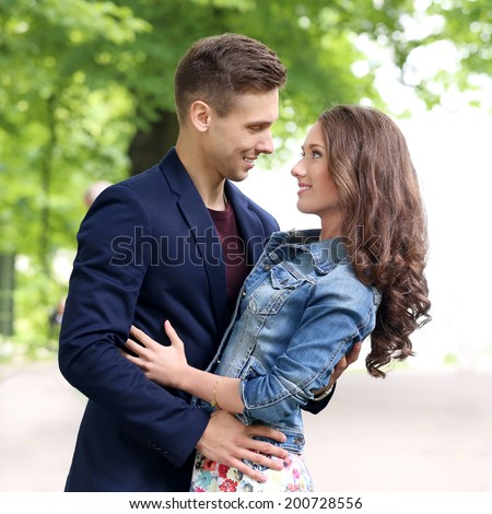 Very cute young couples