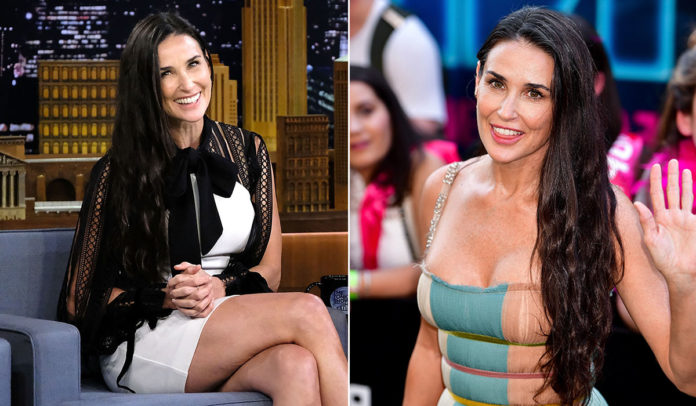 Demi moore fakes
