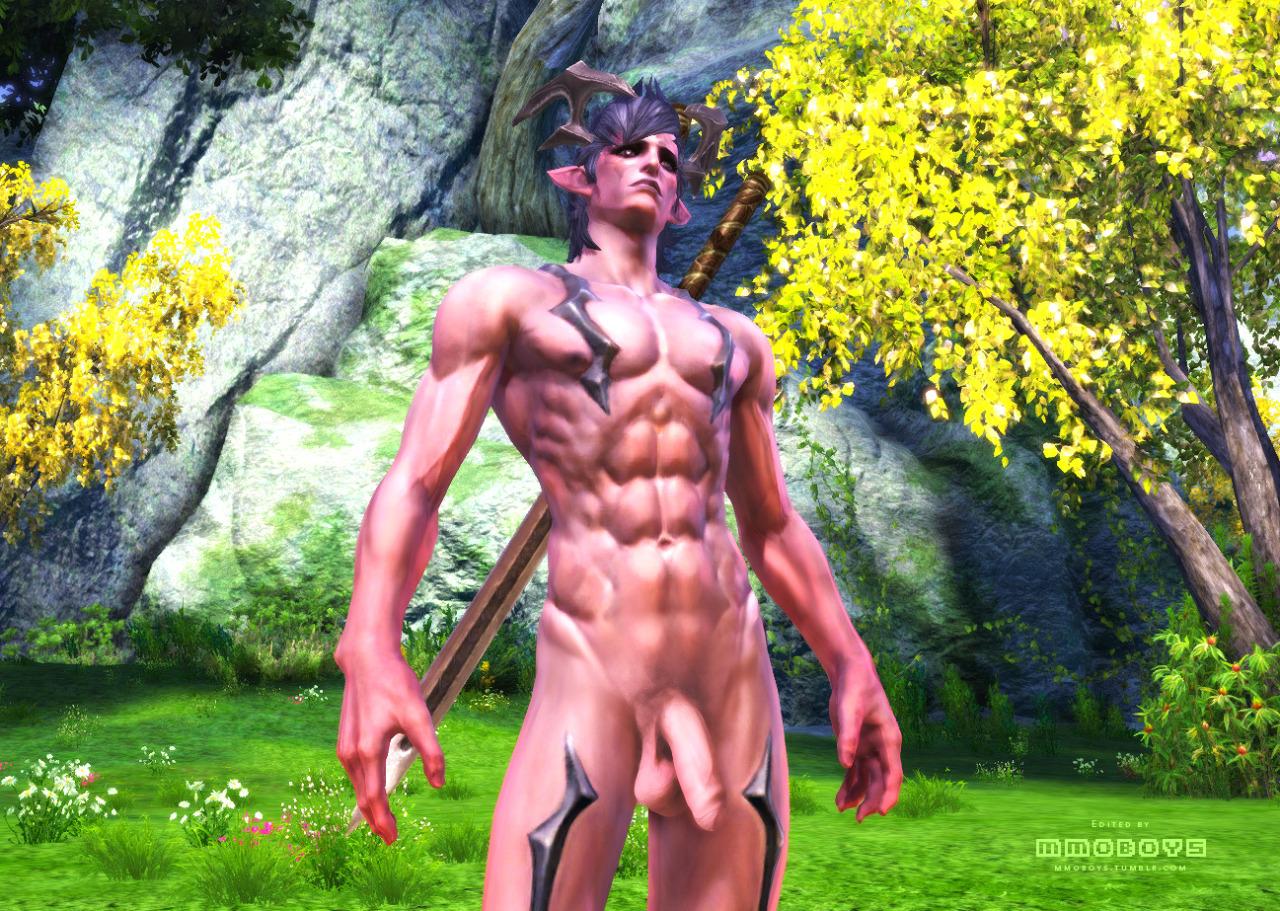 Wow nude mod male