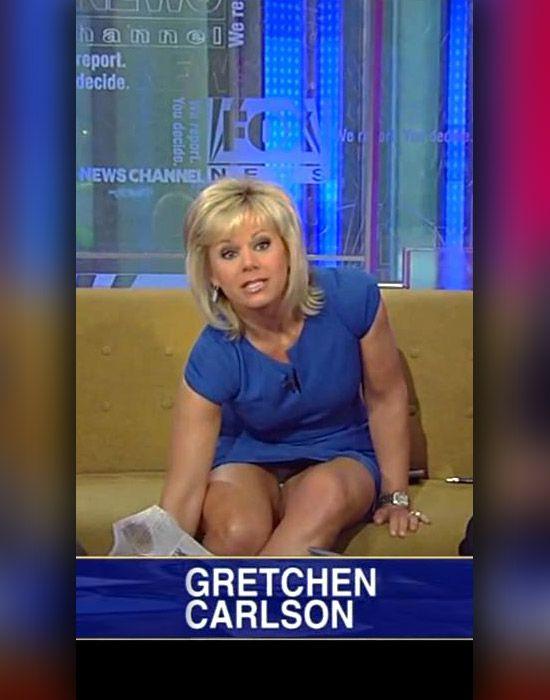 Gretchen carlson upskirt