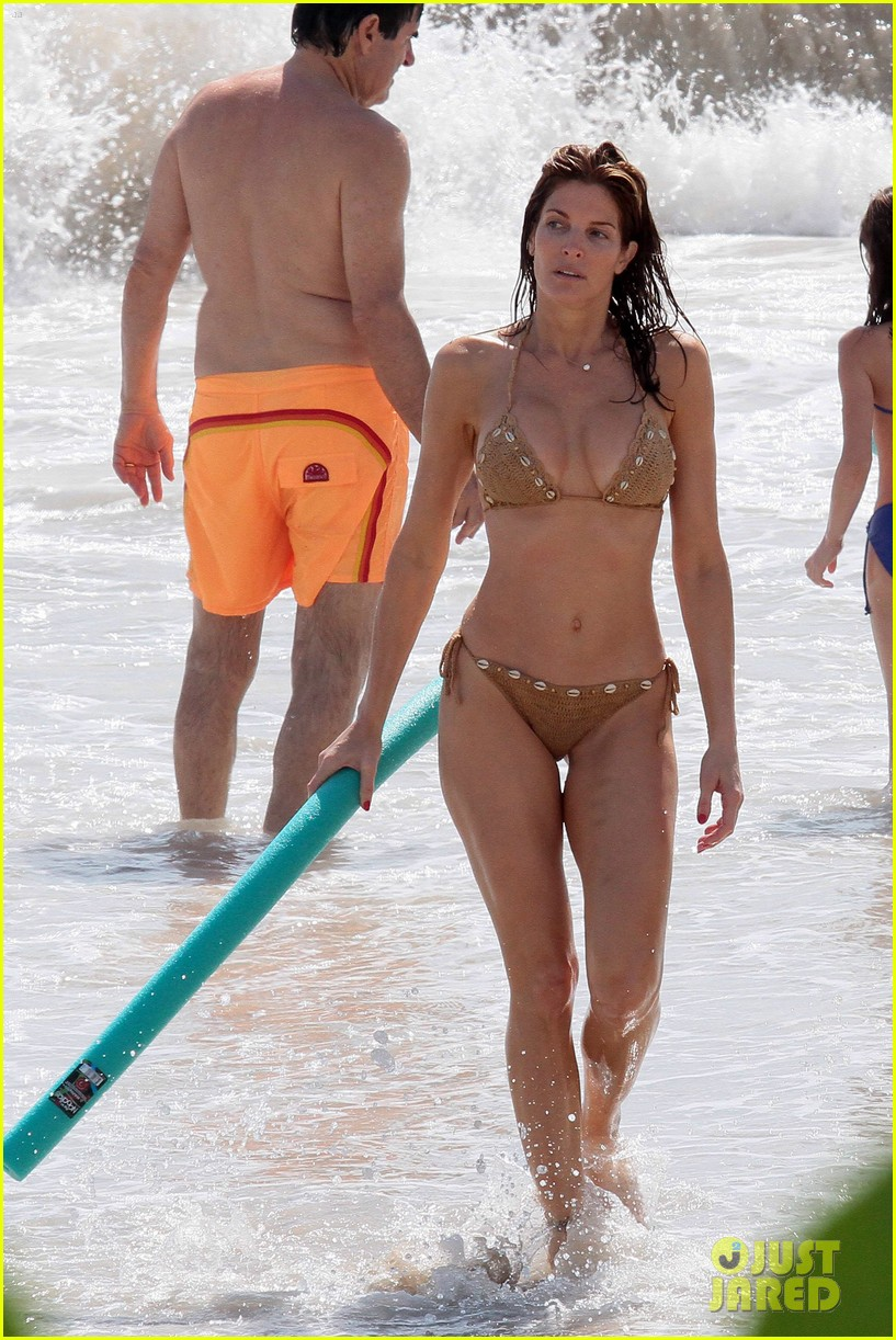 Stephanie seymour and son bikini