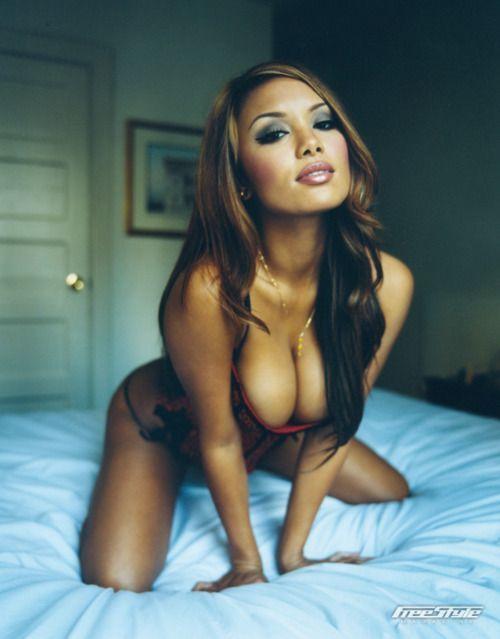 Sexy black latina asian girl
