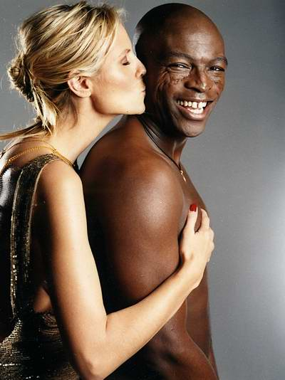 Man mating with black wife
