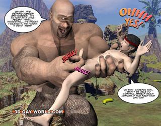 Xxx monster cartoon porn