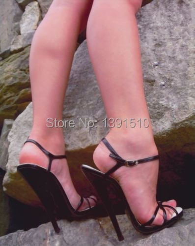 Sexy feet in high heels fetish
