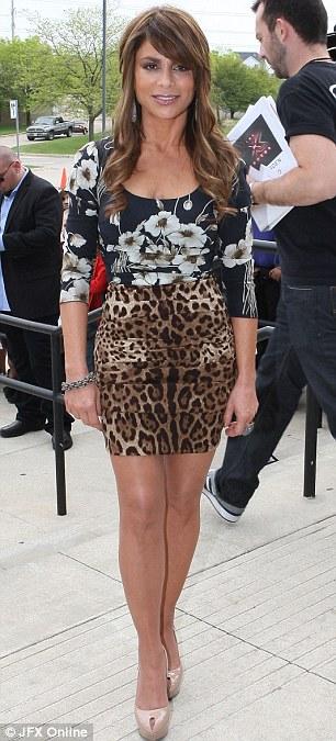 Paula abdul wardrobe malfunction