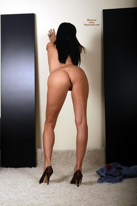 Nudes bent over ass and heels