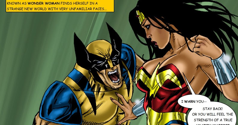 Wonder woman wolverine porn