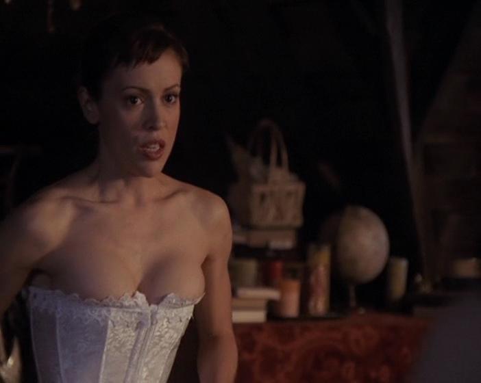 Charmed alyssa milano porn