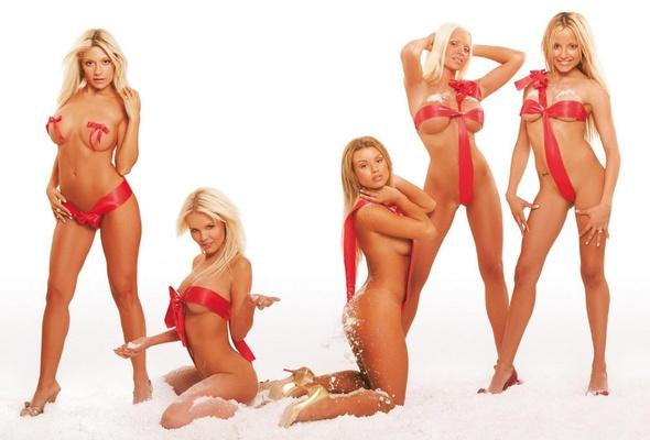 Hot christmas girls nude