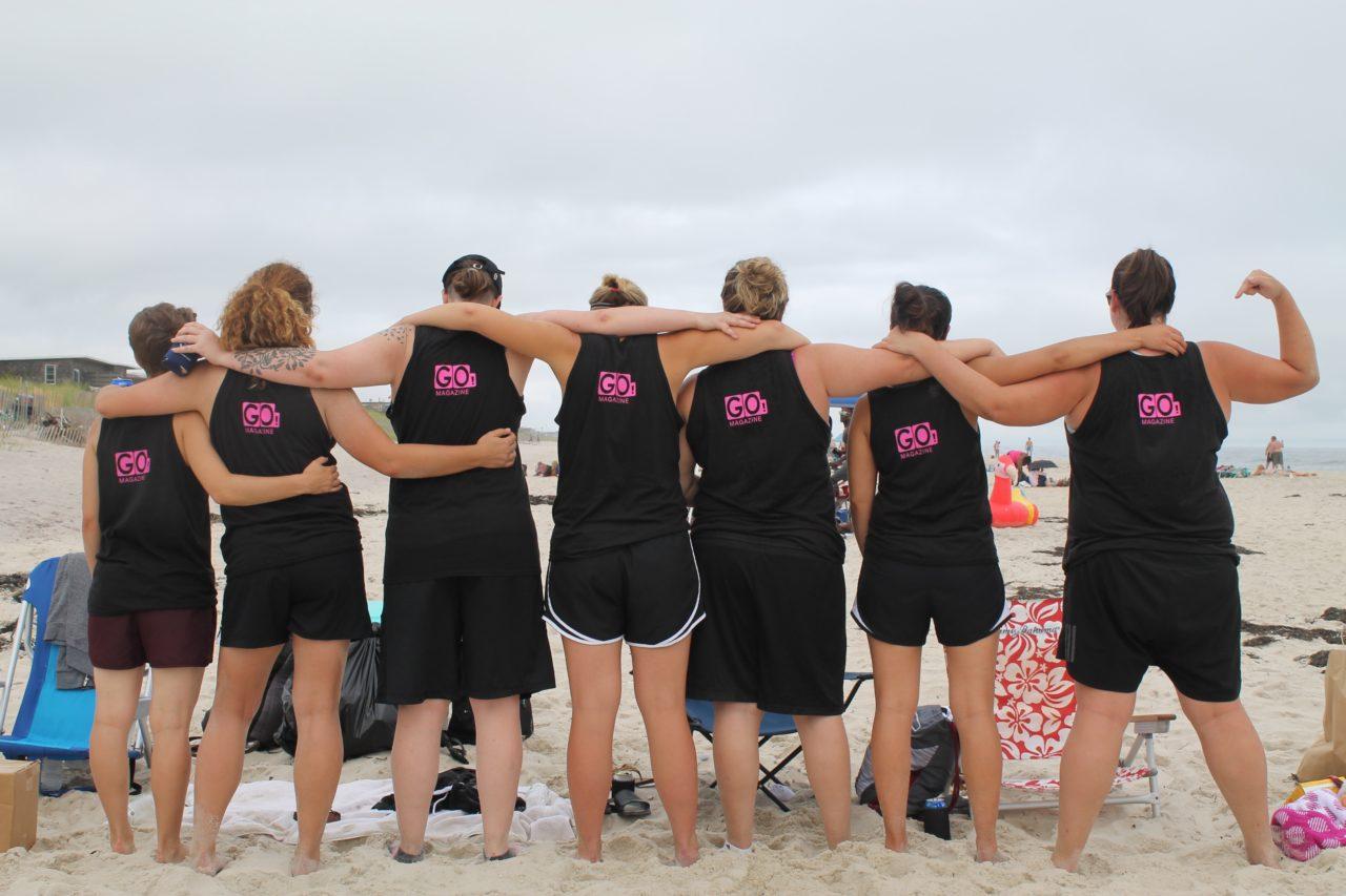 Volleyball team gf revenge lesbian