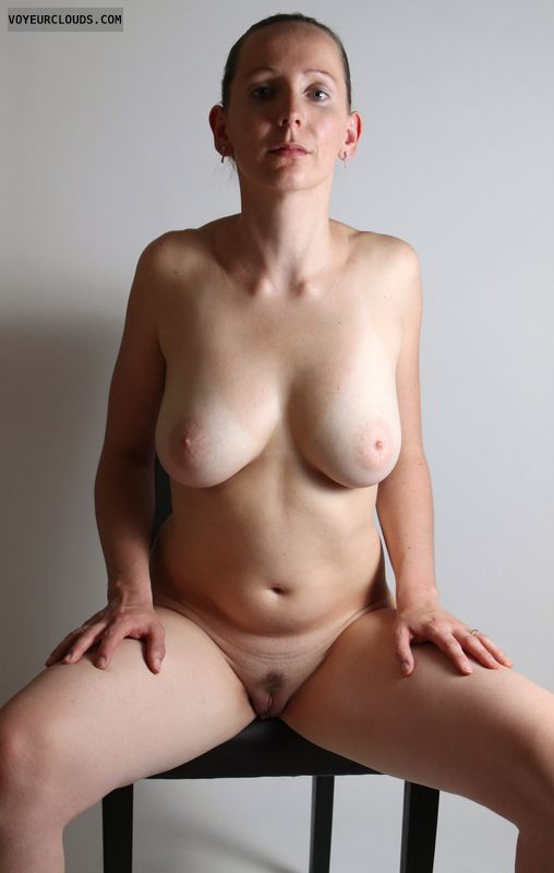 Big boobs nude legs spread