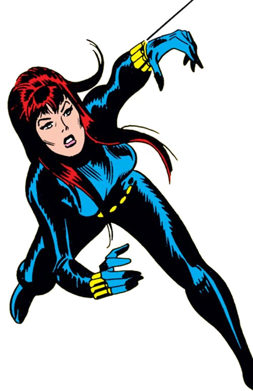 Black widow marvel superheroines