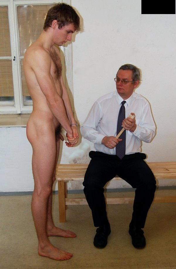 son Dad nude and