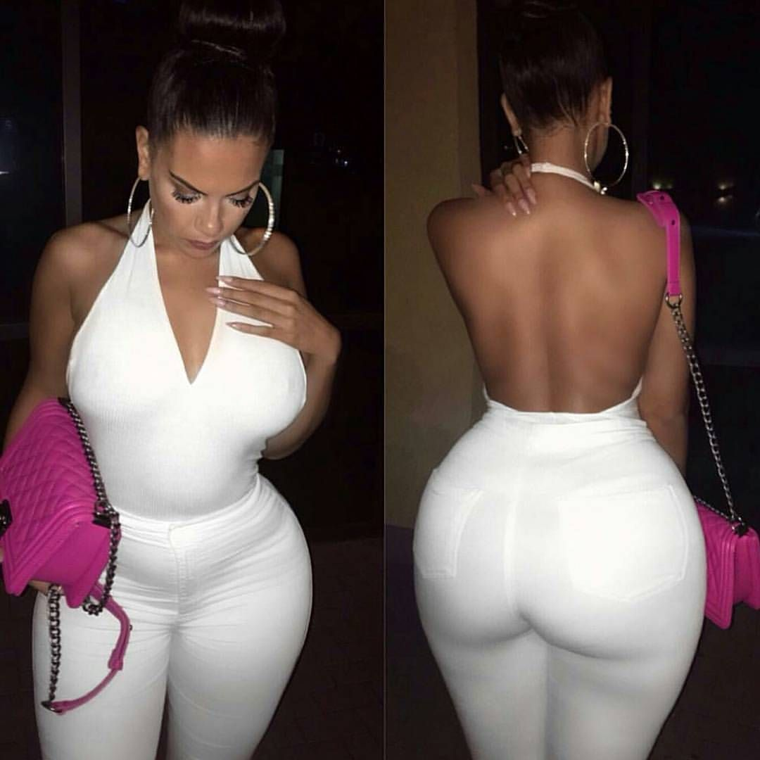 Big ass white girl jeans