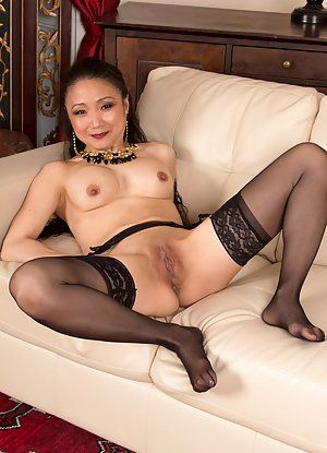 Naked mature asian women