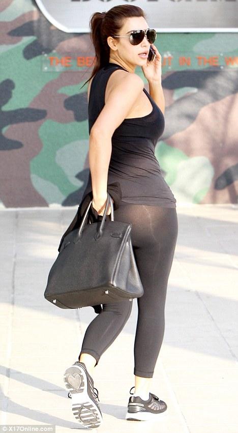 Ass legging kim kardashian