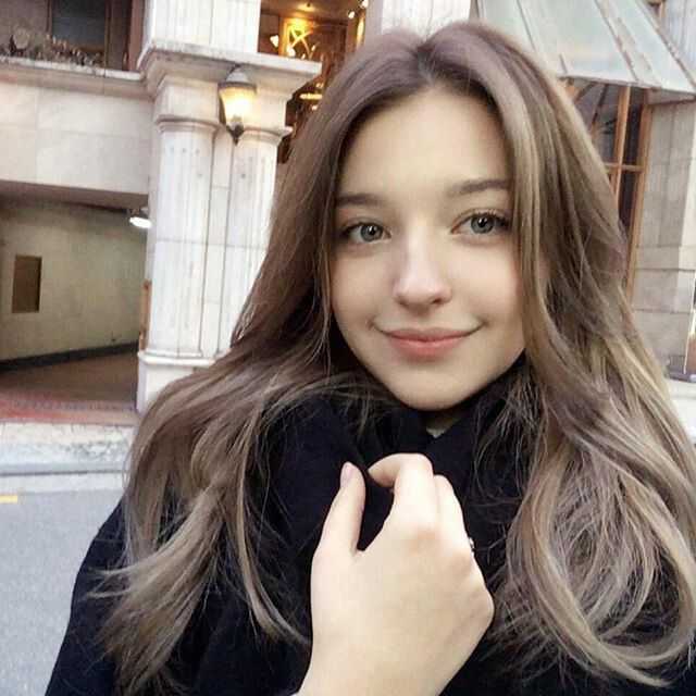Young russian teens love