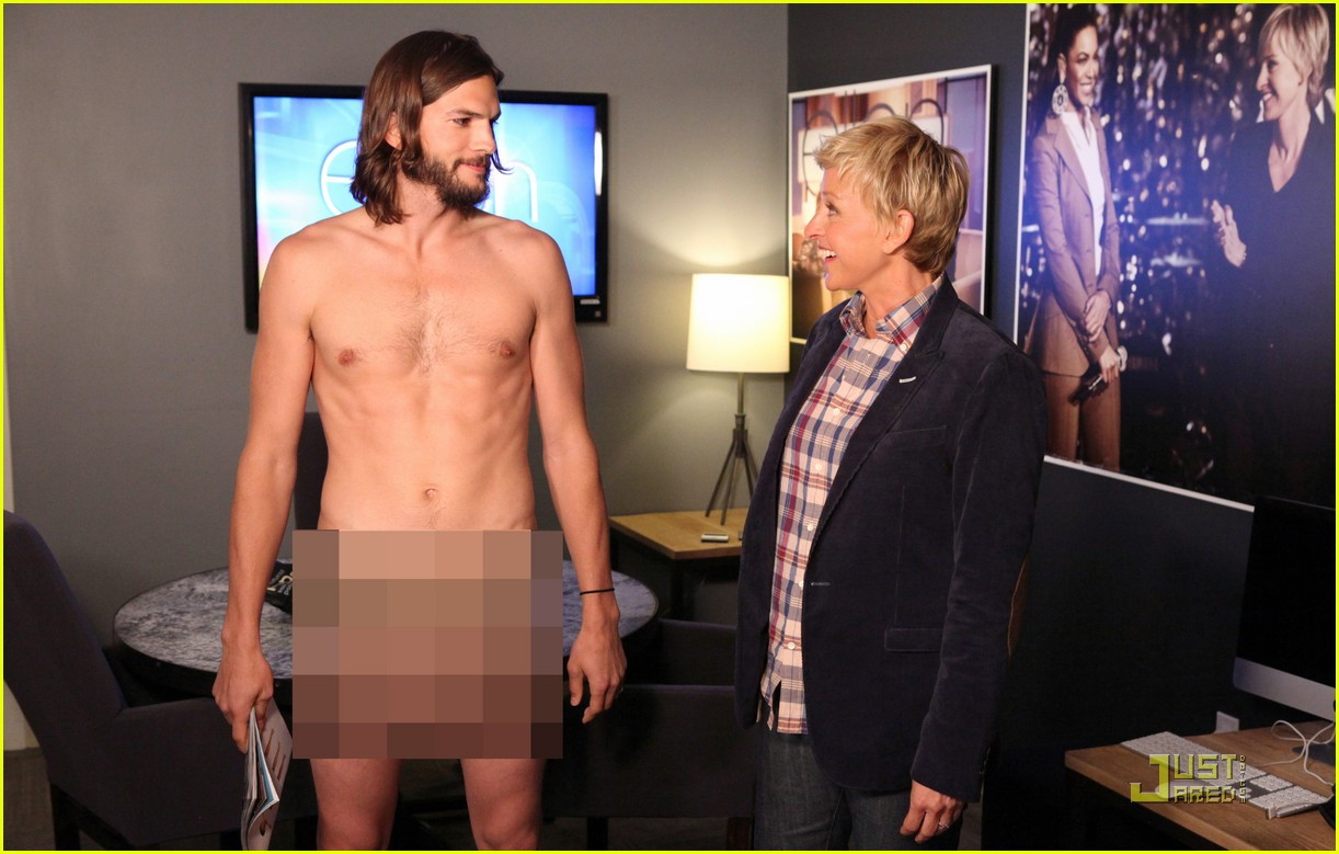 Ashton kutcher naked