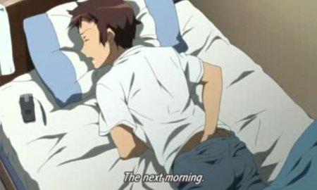 Anime boy masturbation