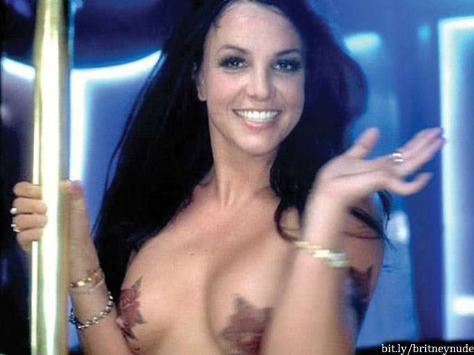 Britney spears nude boobs