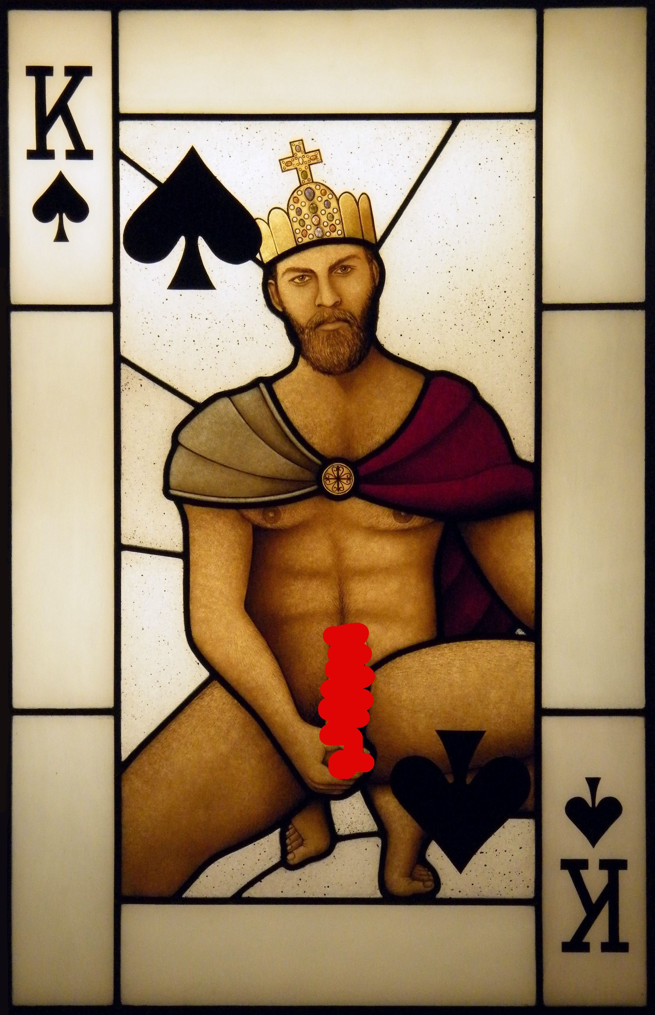 cards nude playing Gay male