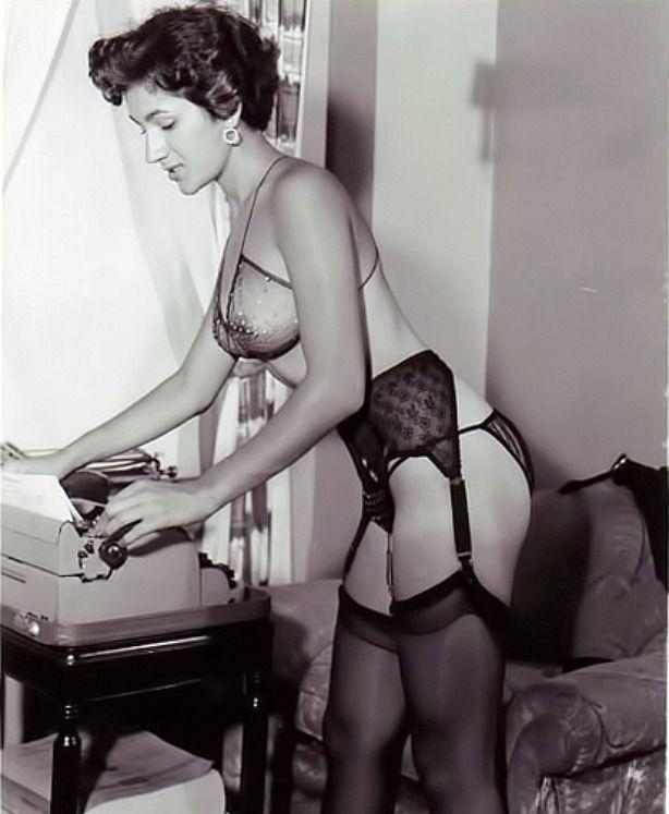 Vintage classic retro glamour porn
