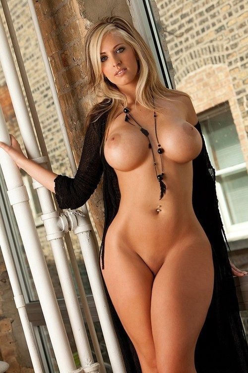 Blondes with firm round tits